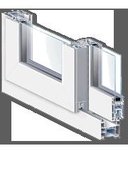 Correderas de PVC Veka Ekosol 70mm: CONFORTTA - Puertas y ventanas de PVC · aislamiento térmico y acústico.