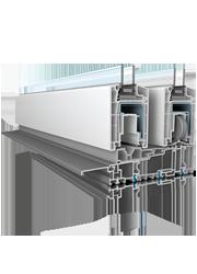 Corredisses elevables de PVC Veka Slide 170mm: CONFORTTA - Finestres de PVC · aïllament tèrmic i acústic.