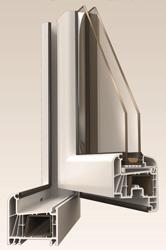 Finestra PVC Kömmerling Eurofutur Elegance 70mm: CONFORTTA - Finestres de PVC Kömmerling · aïllament tèrmic i acústic.