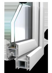 Finestres de PVC Veka Softline 70mm: CONFORTTA - Finestres de PVC · aïllament tèrmic i acústic.