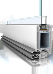 Puerta de entrada de PVC Veka Softline 70mm: CONFORTTA - Puertas de entrada de PVC · aislamiento térmico y acústico.