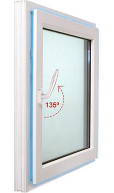 Micro-ventilació de les portes i finestres de PVC Veka Kömmerling amb ferratge Winkhaus: CONFORTTA - Portes i finestres de PVC · aïllament tèrmic i acústic.