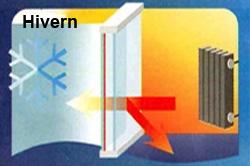 Vidre intel-ligent Guardian Sun Hivern: CONFORTTA - Portes i finestres de PVC · aïllament tèrmic i acústic.