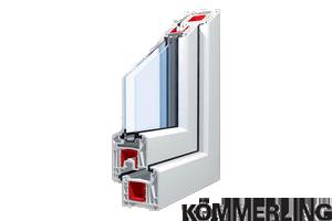 Sistemes de perfils de finestres de pvc KÖMMERLING Eurofutur.
