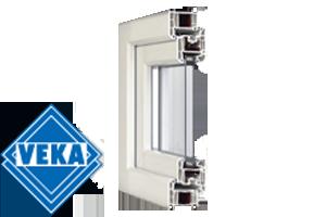 Sistemes de perfils de finestres de pvc VEKA Softline.