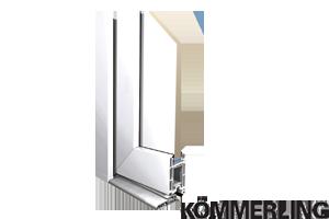 Sistemes de perfils de portes de pvc KÖMMERLING Eurofutur.