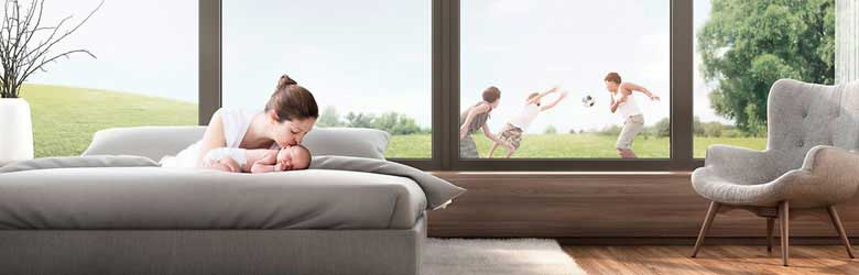 Finestra de PVC Veka, Kömmerling, Cortizo, Schüco, Rehau, el millor confort per a tu i els teus.