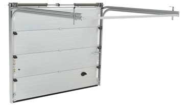 Porta de garatge seccional: CONFORTTA - Seguretat, confort, aïllament tèrmic i acústic.